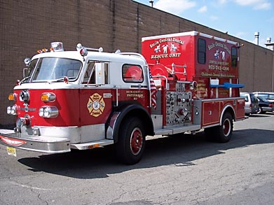 dental fire truck protected by Abuseproof™